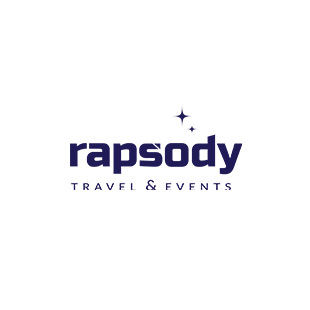 Rapsody travel & events logo - Klijenti Graphic Beast