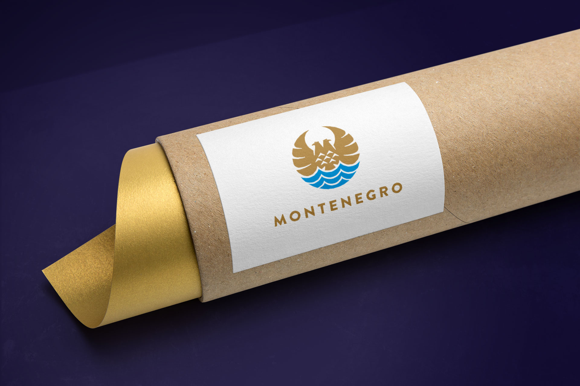Dizajn logotipa nacionalnog brenda Crne Gore Montenegro
