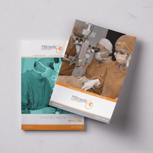 Dizajn i izrada brošure za Milmedic kliniku iz Beograda