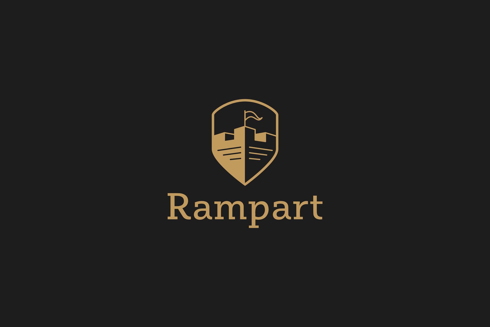 Dizajn i izrada logotipa za konsultantsku agenciju rampart