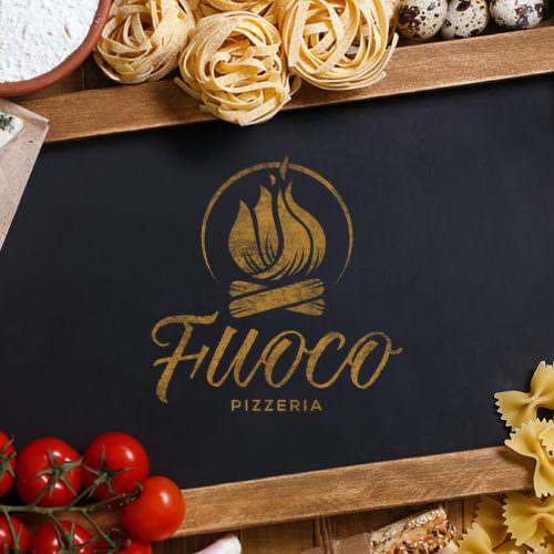 Dizajn i izrada logotipa i kompletnog identiteta za restoran italijanske kuhinje Fuoco