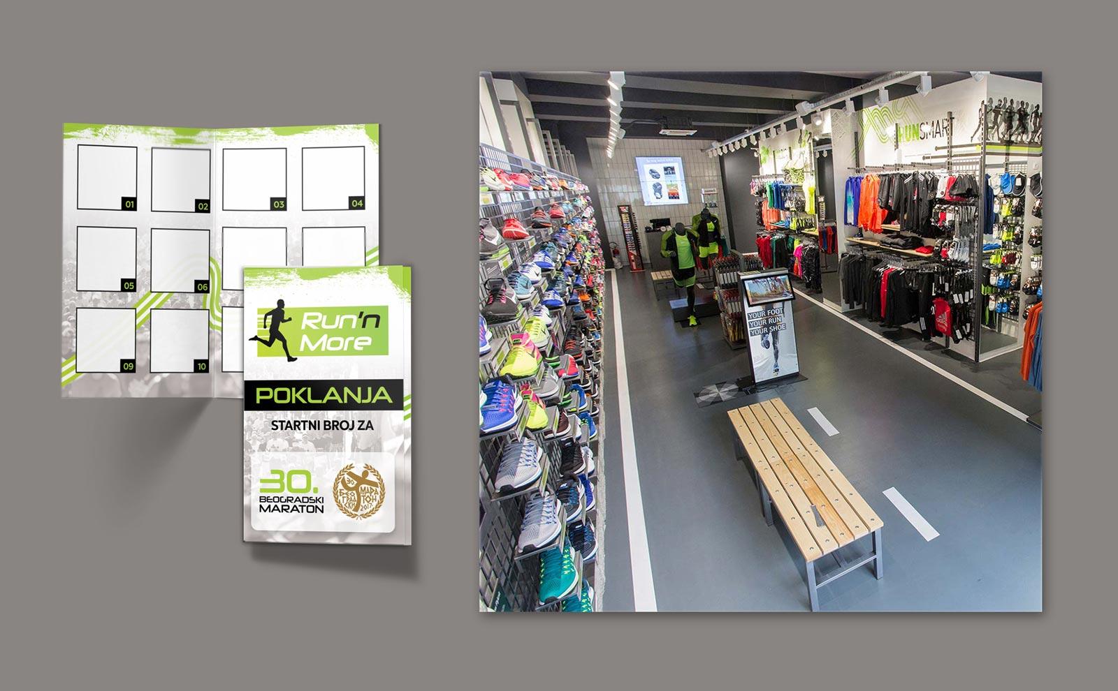 Dizajn loyality kartice za Sport Vision, Run n More