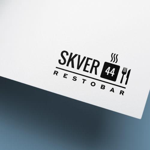 Redizajn logotipa restorana SVER 44 - Graphic Beast dizajn studio