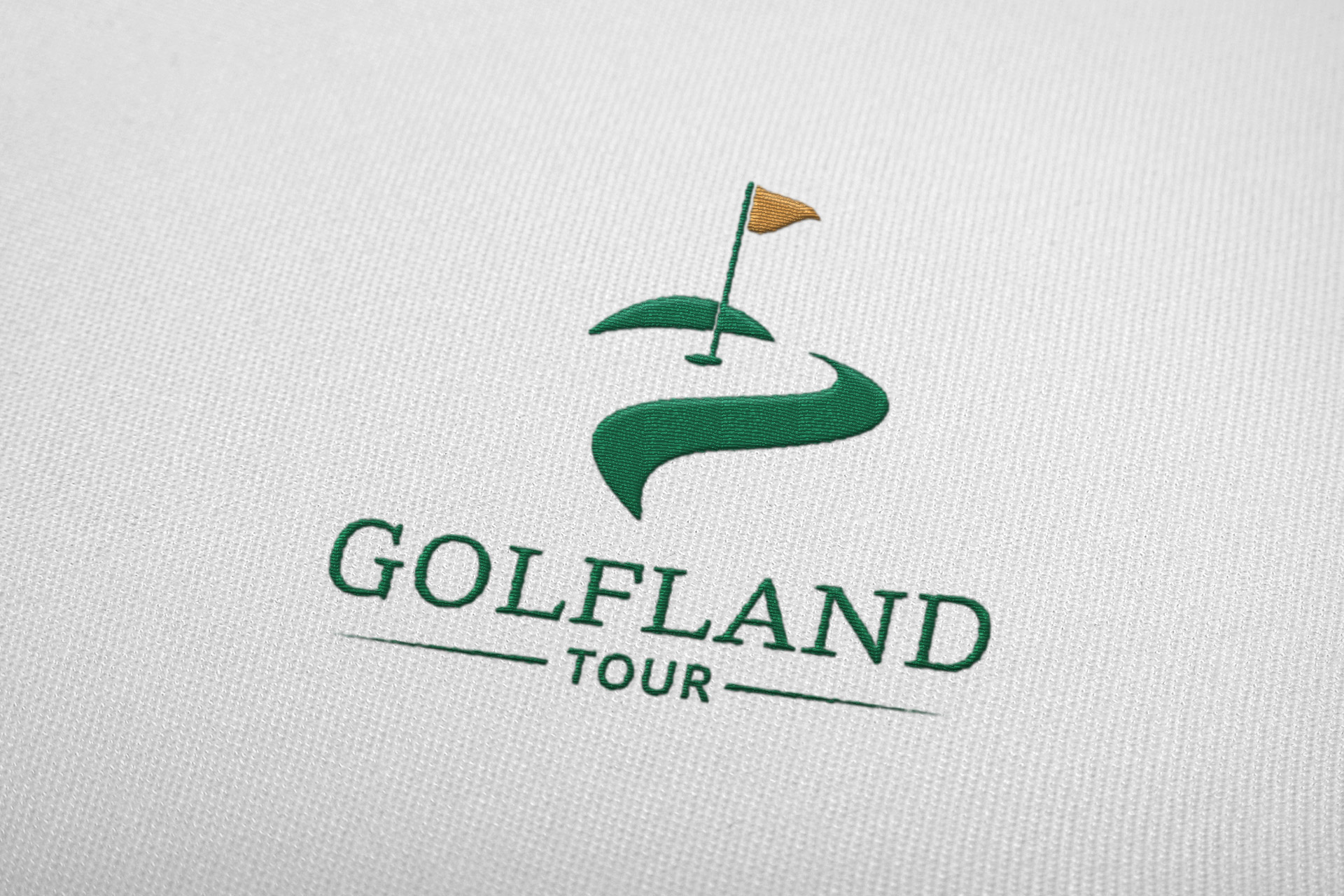Dizajn i izrada logotipa za Golfland Shop & Tour