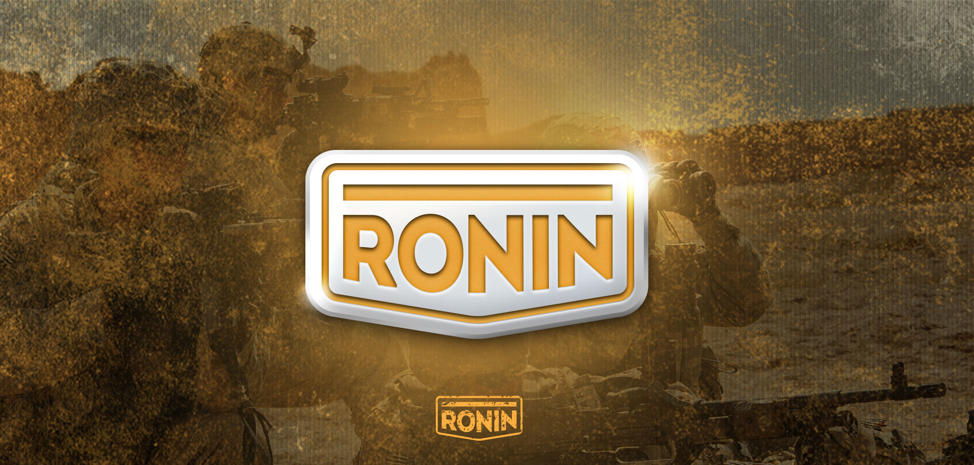Dizajn logotipa za Ronin army shop brend
