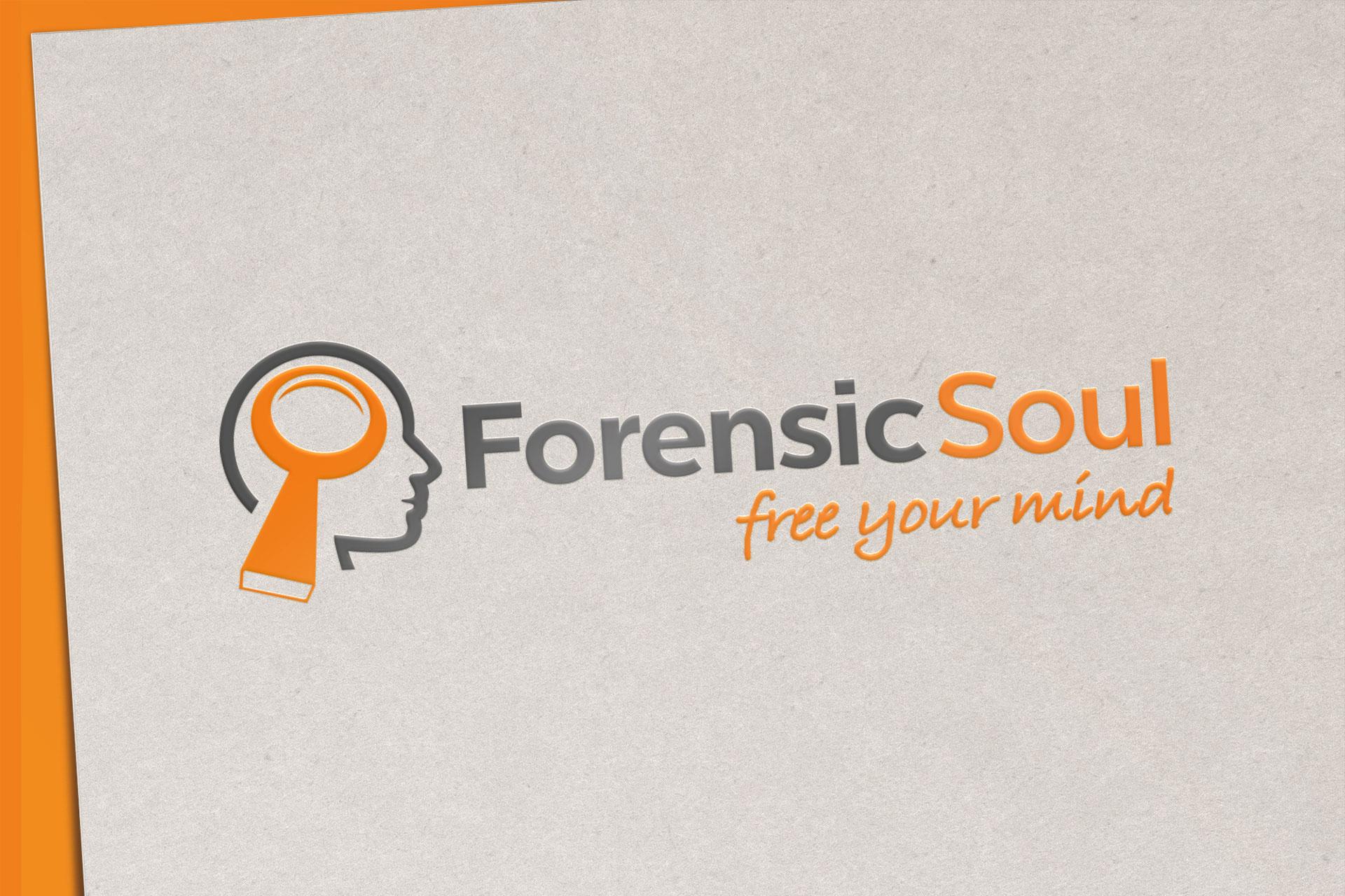Dizajn logotipa za Forensic Soul