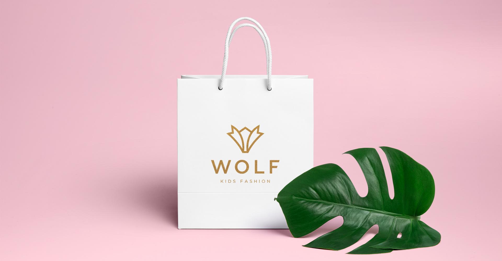 Dizajn i izrada kese za Wolf fashion dečiju kolekciju