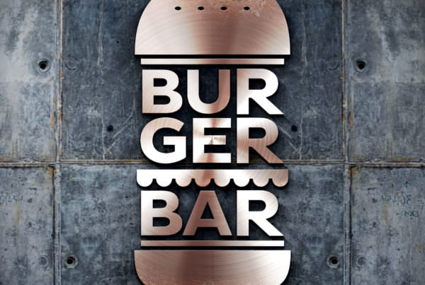 Dizajn i izrada logotipa za restoran BG Burger Bar, Beograd