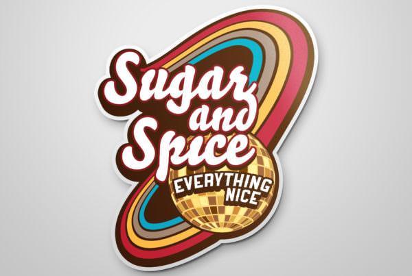 Dizajn i izrada logotipa za restoran Sugar and Spice Beograd
