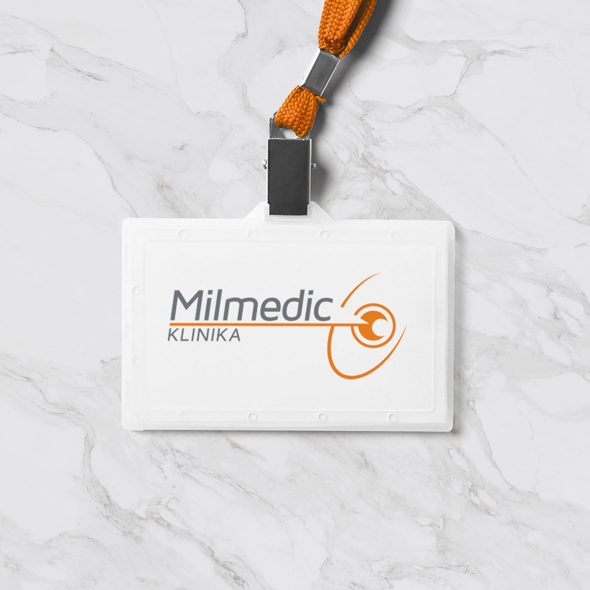 Dizajn i izrada logotipa za Milmedic kliniku iz Beograda