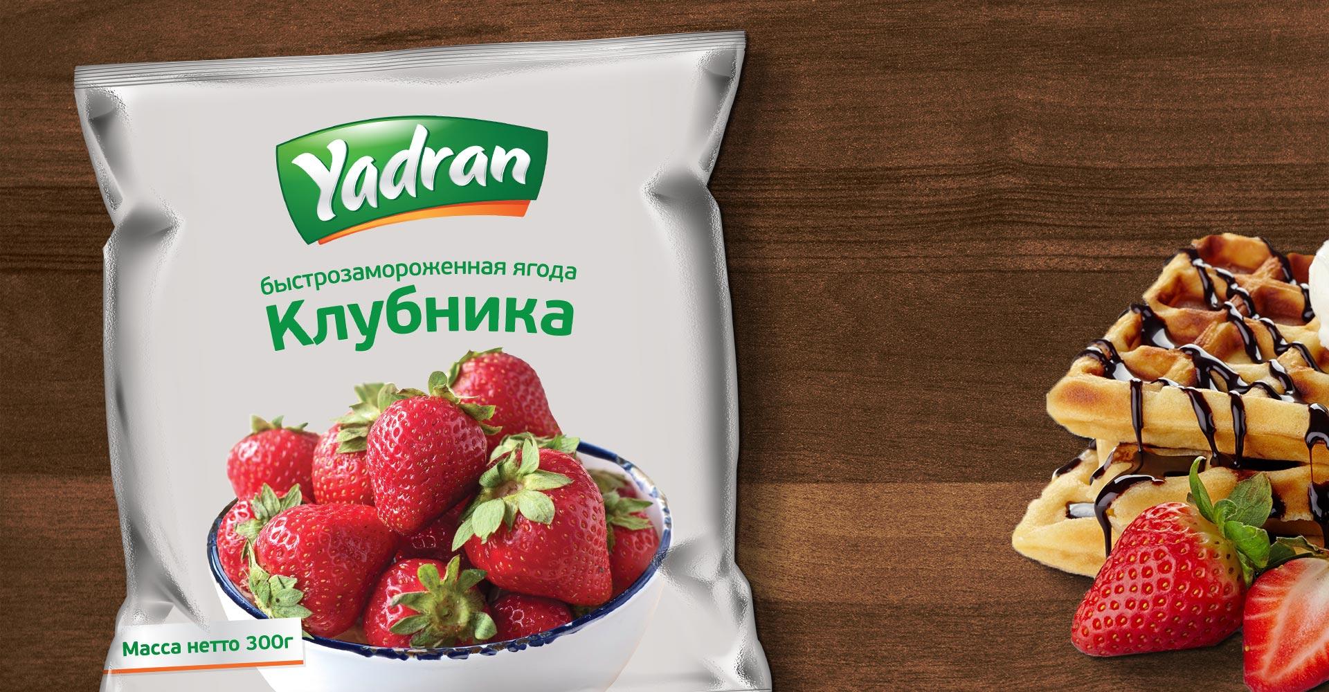 Dizajn pakovnja za smrznuto voće kompanije Yadran