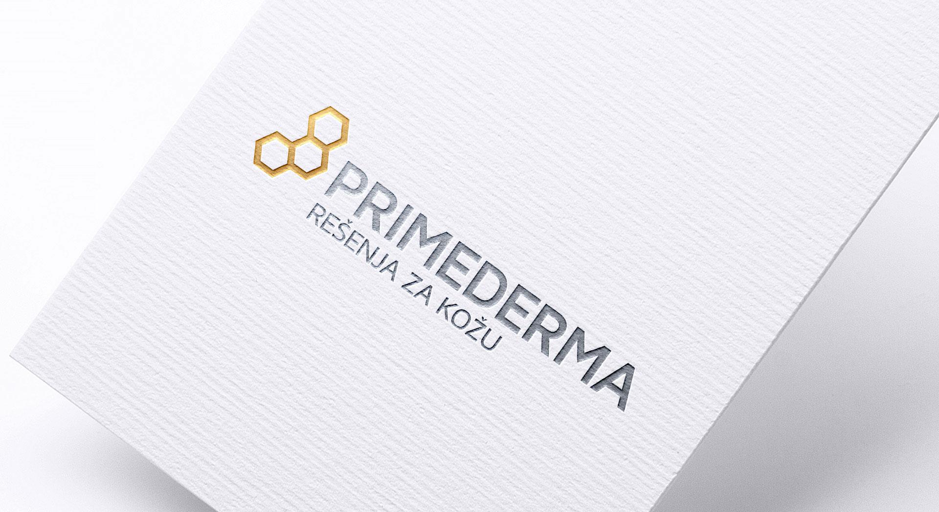 Dizajn i izrada logotipa za Primederma kozmetiku