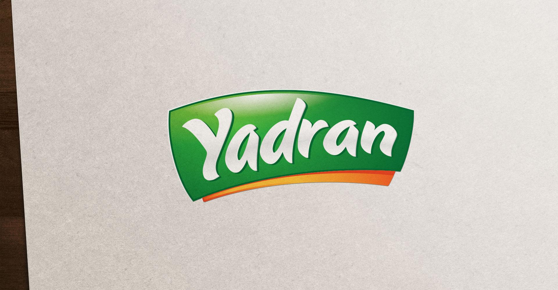 Dizajn i izrada logotipa za ruski brend smrznutog povrća Yadran