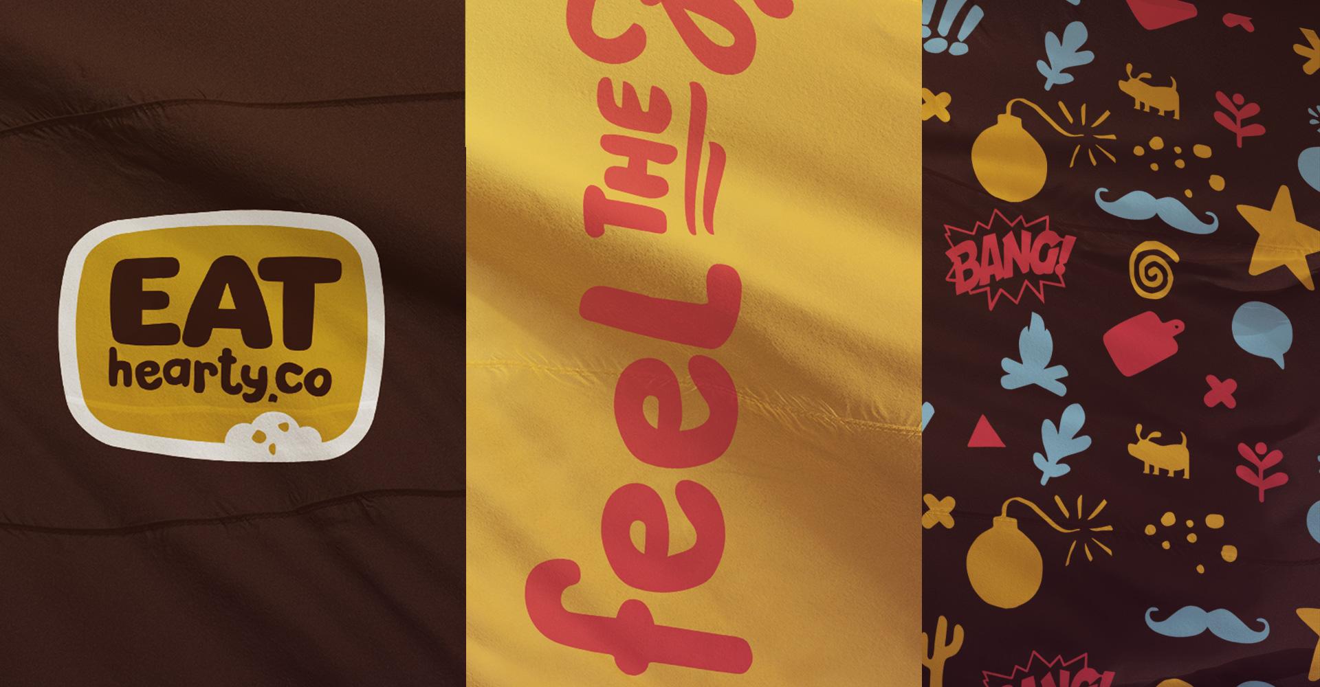 Dizajn i izrada zastave fast food restorana Eat Hearty Co.