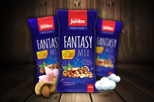 Graphic Beast - Redizajn pakovanja za fantasy mix - Jumbo grickalice