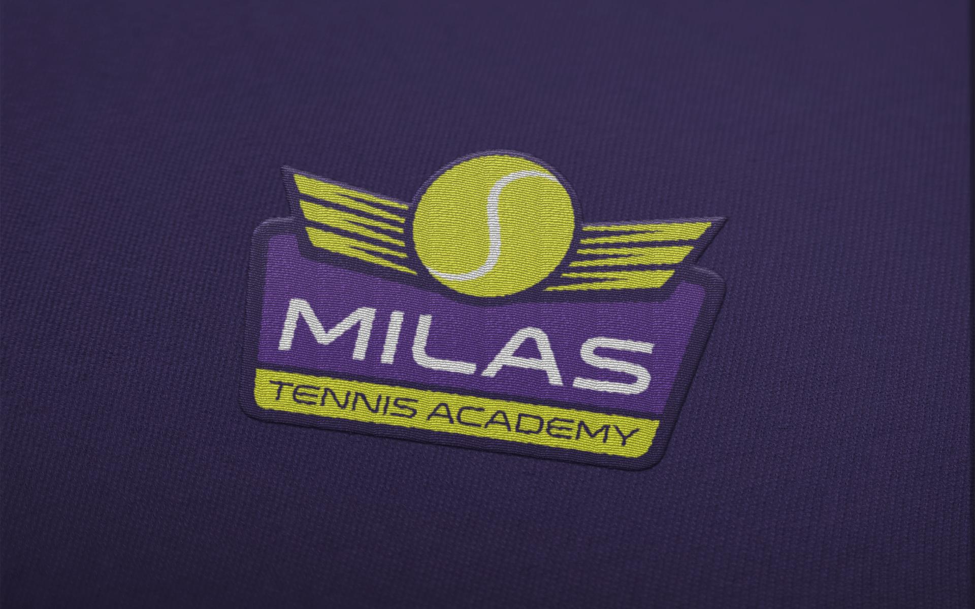 Dizajn logotipa za Milas tenisku akademiju