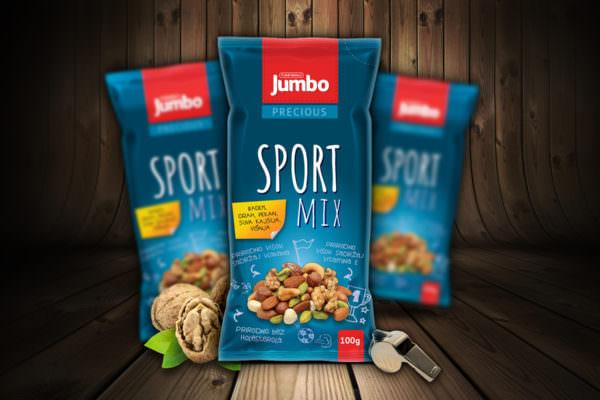 Graphic Beast - Redizajn pakovanja za sport mix - Jumbo grickalice
